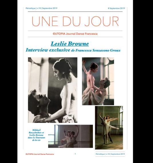 ©Utopia Journal Danse Francesca version française